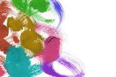 abstrakta trafienia szczotki Zdjęcie Royalty Free
