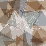Abstrakta trianglar Arkivfoton