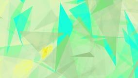 Abstrakta trianglar i olika färger stock illustrationer