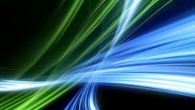 abstrakta udar światła Zdjęcie Royalty Free