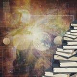 Abstrakta utbildnings- och vetenskapsbakgrunder Arkivfoto