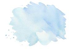 Abstrakta vattenfärgborsteslaglängder målade bakgrund TexturPA Royaltyfria Foton