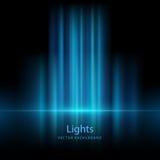 Abstrakta vektorbakgrunder för blinkande ljus Arkivbild