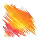 Abstrakta vektorvattenfärgbakgrunder på papper Arkivbild