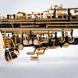 Abstrakta wiatrowy instrument muzyczny Fotografia Royalty Free