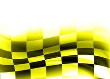 abstrakta wyścigów bandery Zdjęcie Stock