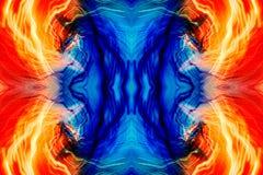 abstrakta wzór światła obraz stock