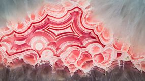 Abstrakta wzór agata kamień Zdjęcie Stock