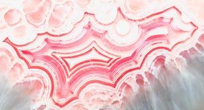 Abstrakta wzór agata kamień Zdjęcia Royalty Free