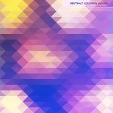 Abstrakta wzór geometryczni kształty Obraz Royalty Free