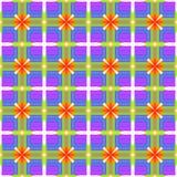 Abstrakta wzór gradient barwiąca tekstura Kolory ultrafioletowy, błękitny, zielony, żółty, pomarańczowy, czerwień ilustracji