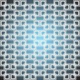 Abstrakcjonistyczny geometryczny wzór kwadraty Fotografia Stock