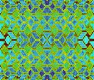 Abstrakta wzór rhombuses Zdjęcie Royalty Free
