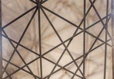 Abstrakta wzór stalowej ramy struktura obrazy royalty free