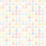 Abstrakta wzór trójboka lekki pastel Fotografia Royalty Free