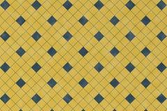 Abstrakta wzór z błękitnym geometrycznym kwadratowym kształtem royalty ilustracja