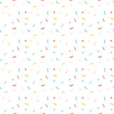 Abstrakta wzór z confetti Zdjęcia Royalty Free