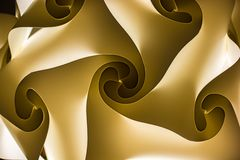 Abstrakta wzór z kilka ruszać się po spirali obraz stock