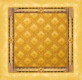 abstrakta złoty graniczny luksus Zdjęcie Royalty Free