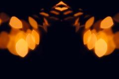 Abstrakta zamazany pomarańczowy tło dla Halloween Zdjęcia Royalty Free