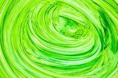 Abstrakta zielona akwarela malujący tło na bielu zdjęcia stock