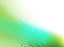 Abstrakta zielony i biały tło Fotografia Royalty Free