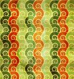 Abstrakta zielony kwiecisty bezszwowy Fotografia Stock