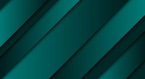 Abstrakta zielony tło, przekątna wykłada i obdziera ilustracja wektor