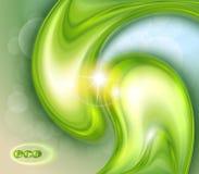 Abstrakta zielony tło Zdjęcie Stock