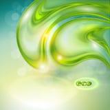 Abstrakta zielony tło Fotografia Stock