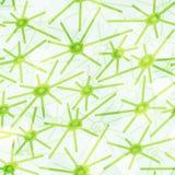 Abstrakta zielony wirusowy bezszwowy wzór Obraz Royalty Free