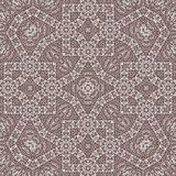 Abstrakte ägyptische Quer-Zentangle-Art-Monochrom Verzierung stock abbildung