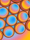 Abstrakte Öl-Tröpfchen Lizenzfreie Stockbilder