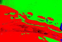 Abstrakte Öl- und Wasserblasen Lizenzfreies Stockfoto