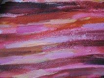 Abstrakte Ölfarbebeschaffenheit auf Segeltuch Abbildung für Ihre Auslegung Stockbilder