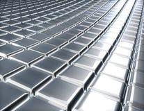 Abstrakte 3D geprägte Oberfläche Stockbild