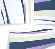 Abstrakte Abbildung, bunte Zusammensetzung. Stockbild