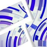 Abstrakte Abbildung, bunte Zusammensetzung. Stockfoto