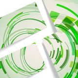 Abstrakte Abbildung, bunte Zusammensetzung. Lizenzfreies Stockbild