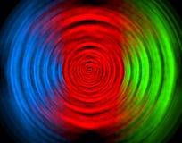 Abstrakte Abbildung in den Farben vektor abbildung