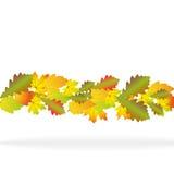 Abstrakte Abbildung des Herbstes stock abbildung