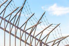 Abstrakte Abbildung des Stacheldrahts Lizenzfreie Stockfotos