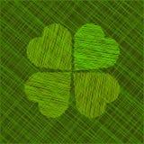 Abstrakte Abbildung St. Patricks Tagesvektor lizenzfreie abbildung