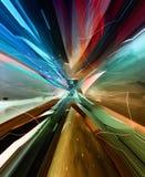 Abstrakte Abbildung. virtueller Hintergrund. vektor abbildung
