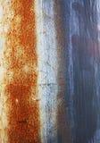 Abstrakte Abnutzungsmuster auf Metall Lizenzfreie Stockbilder
