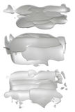 Abstrakte Acrylbürste streicht Flecken Lizenzfreies Stockbild