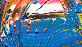 Abstrakte Acrylbeschaffenheit Lizenzfreie Stockfotografie