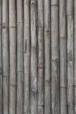 Abstrakte alte Bambuswand Lizenzfreies Stockbild