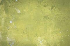 Abstrakte alte grüne Farbe auf Zementwandhintergrund Lizenzfreie Stockbilder