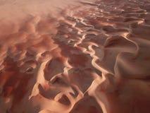 Abstrakte Ansicht von Sanddünen in der Wüste Lizenzfreie Stockfotos